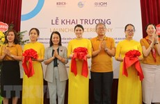 One-stop service office for returning migrant women opens in Hai Phong