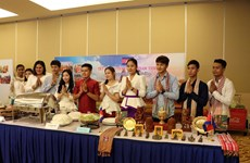 New Year for Cambodia, Laos, Thailand celebrated in Ba Ria-Vung Tau