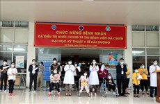 Only nine COVID-19 patients remain under treatment in Hai Duong