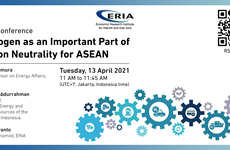 Use of hydrogen touted as a solution to carbon neutrality for ASEAN