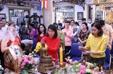 HCM City ceremony marks traditional New Year of neighbouring countries