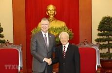 Party leader lauds US ambassador's contributions to Vietnam-US ties