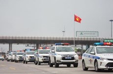 Traffic police deploy forces during upcoming holiday, election