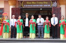Exhibition of Ninh Thuan - Quang Nam Cham culture underway