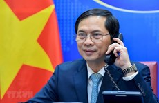 FMs of Vietnam, Morocco discuss bilateral cooperation