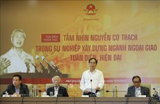 Symposium spotlights late Foreign Minister Nguyen Co Thach's vision on diplomacy development