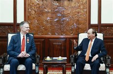 State President hosts outgoing US Ambassador