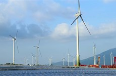 Vietnam's biggest wind power plant operational