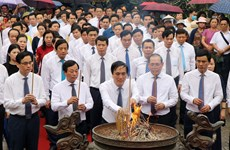 Activities held to commemorate legendary ancestors of Vietnam