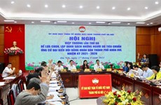Hanoi, HCM City approve lists of candidates in upcoming elections