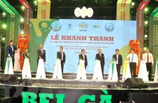 High-tech poultry incubation factory inaugurated in Tay Ninh