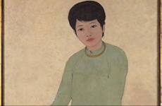 Portrait by late Vietnamese painter sold for record 3.1 million USD
