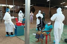 Cambodia sees highest daily jump in new COVID-19 cases