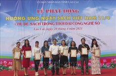 Over 6,500 books presented to children in Lao Cai