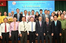 17 collectives, 33 individuals honoured for overseas Vietnamese affairs