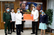 CPV's congratulatory letters handed over to Cuban Party
