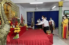 Death anniversary of the Hung Kings marked in Thailand's Udon Thani province