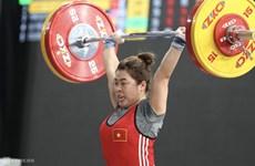 Weightlifter Duyen wins Vietnam's first int'l medal of year