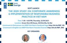 UNDP announces study on corporate awareness, responsible business practice in Vietnam