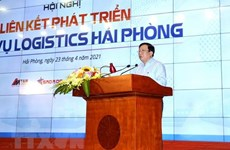 Measures sought to promote logistics development in Hai Phong