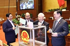 New Vietnamese leaders receive more congratulations