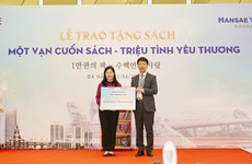 Book donation programme celebrates Vietnam Book Day