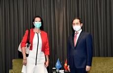 FM receives UN chief's special envoy on Myanmar