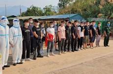 Illegal immigrants arrested in northern Dien Bien province