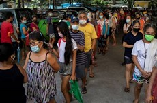 COVID-19 cases continue to surge in Southeast Asia on April 26