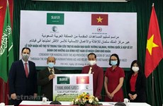 Saudi Arabia lends helping hand to disadvantaged Vietnamese