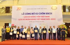 Books on Vietnamese currency, banking system released