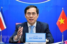 Vietnam, Costa Rica discuss boosting ties