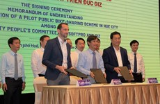 Hue to pilot public bike-sharing scheme