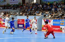 Vietnam to face Lebanon for place at Futsal World Cup