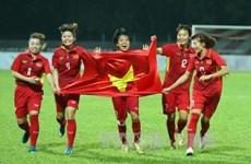 Vietnam move up one spot on FIFA Women's World Rankings