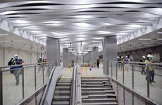 Ba Son underground station's ground floor completed ahead of schedule