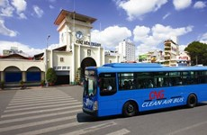 HCM City prioritises clean-fuel vehicle development