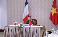 Working group for Vietnam-France defence ties meet via videoconference