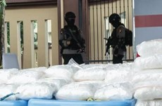 Indonesia seizes over 580-kg haul of crystal meth