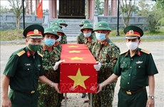 Thua Thien Hue lays 14 sets of martyrs' remains to rest