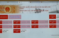 Election management software undergoes trial in HCM City