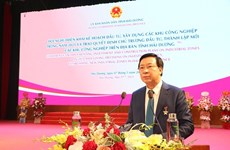 Hai Duong province to develop 10 - 15 more industrial parks