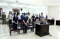 Defendants in Nhat Cuong Company smuggling case jailed