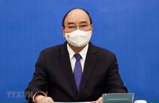President holds phone talks with Japanese Prime Minister
