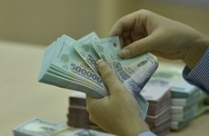 Reference exchange rate down 17 VND