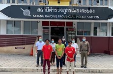 Five Vietnamese fishermen from sunken ship off Thai coast set to return home