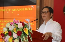 Khanh Hoa should develop strong sea-based economy: Party official