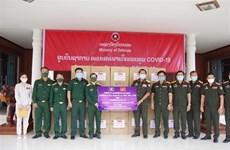 Vietnamese community helps Laos combat COVID-19