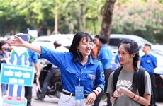 Hanoi's students to take summer break early