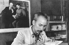 Exhibition on President Ho Chi Minh opens at former revolutionary base